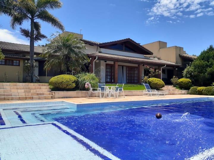 Sitio, casa d campo, wifi, piscina aquecida, lazer