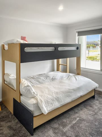 Bedroom Three, Double Bed and Single