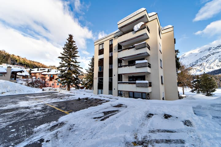 Very nice flat in Champfer - Sankt Moritz