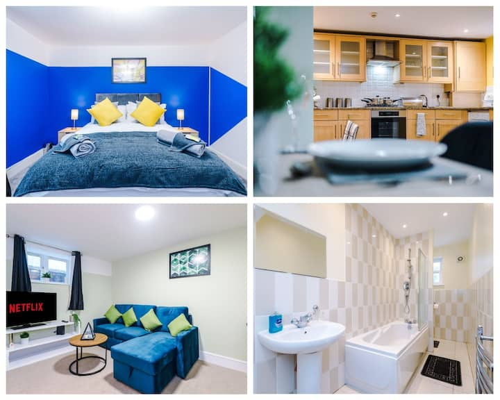 ✪Newly Launched ✪ 2 Bed  Apt | Free Parking & WiFi