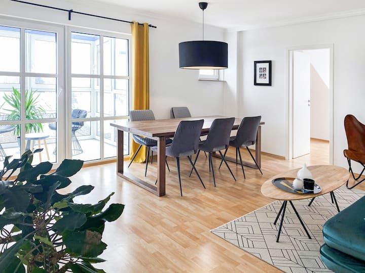 90 m² | close to Munich Airport | Washer | Netflix
