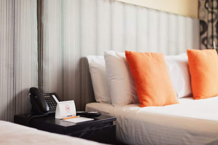10min. walk to the CBD/MCG-$99 for Boutique Hotel5