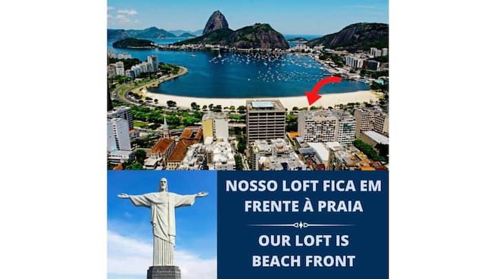 Loft em Frente à Praia - Botafogo - Rio de Janeiro