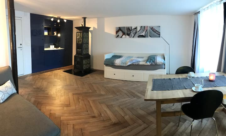 Charmantes Zimmer nahe der Musikinsel Rheinau