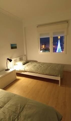 Habitación 1: Dos camas individuales