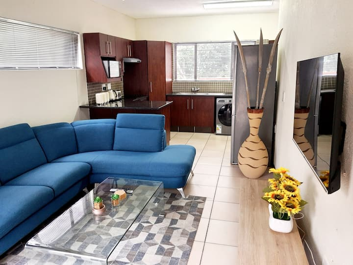 Fully furnished 2 bedroom apartment in Nelspruit