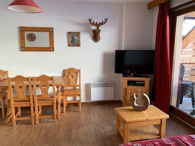 Bel appartement T2 cosy et équipé