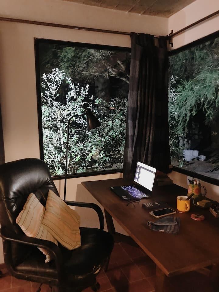 ¿Es posible trabajar  en un entorno natural?