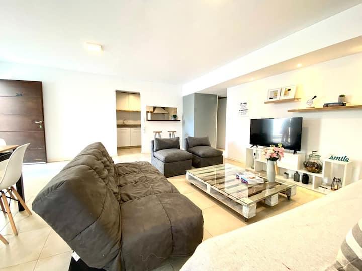 Apartamento comodo en Mendoza centro