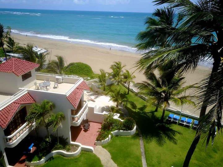 Cabarete Beach-Front-House C1  Nanny Estate.