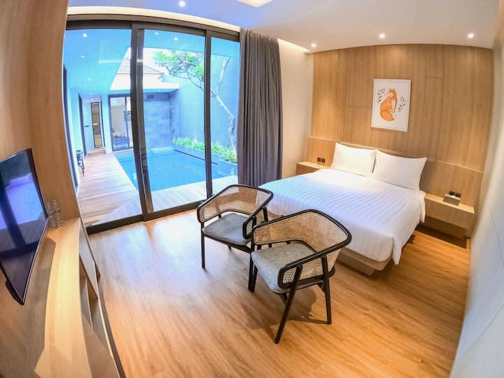 Villa Carmela Batu (1 bedroom + Privatepool)