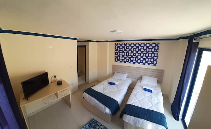 2 single bed room in Citadel Boutique Hotel