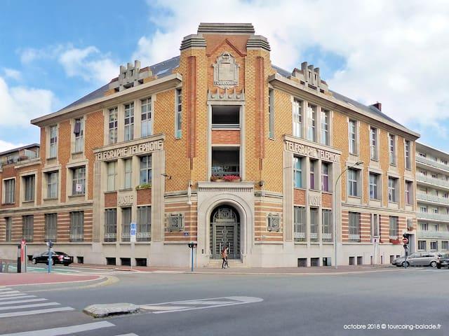 Appartement Duplex Art déco Hyper centre Tourcoing