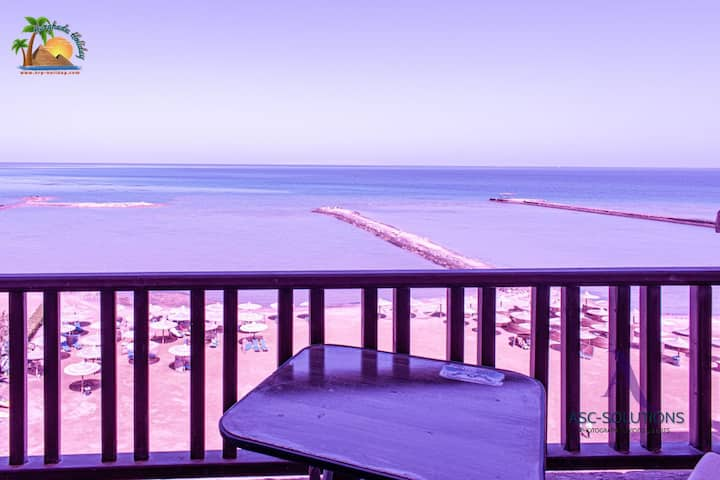 Great Seafront 2 bedrooms at Turtles Beach Resort