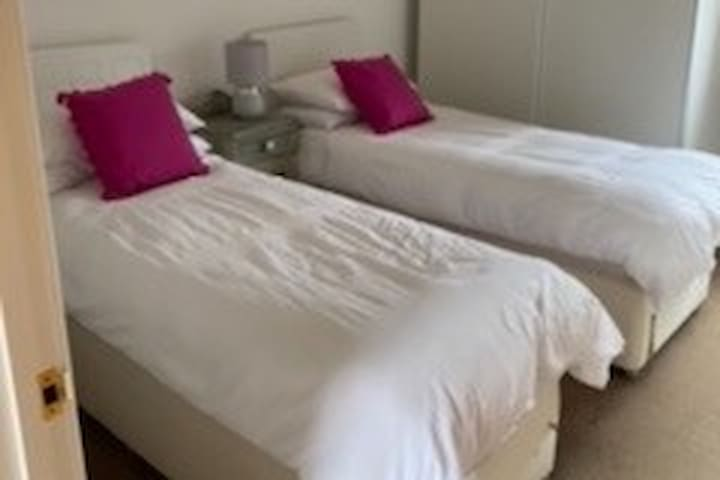 This twin room can also be made up as a double