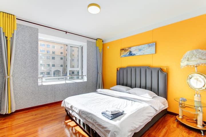 【睿宿公寓】五室可整租/分租可住10人 紧邻奥特莱斯 万达广场 大学城 商旅出差
