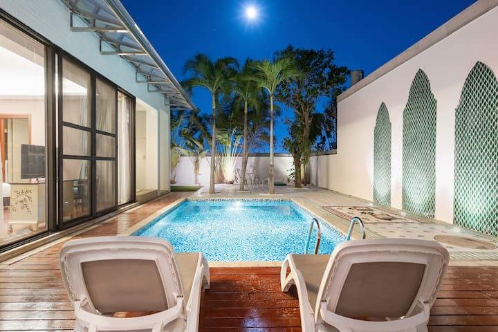 近海棠湾两居室四床1.2米床可拼接&海边五分钟&网红打卡