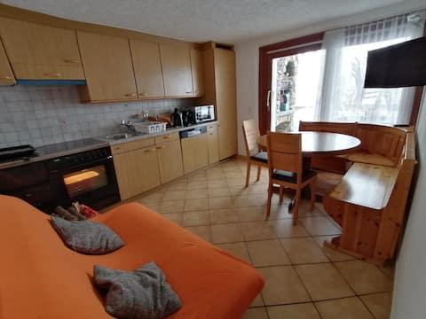Appartamento Olivone con giardino privato