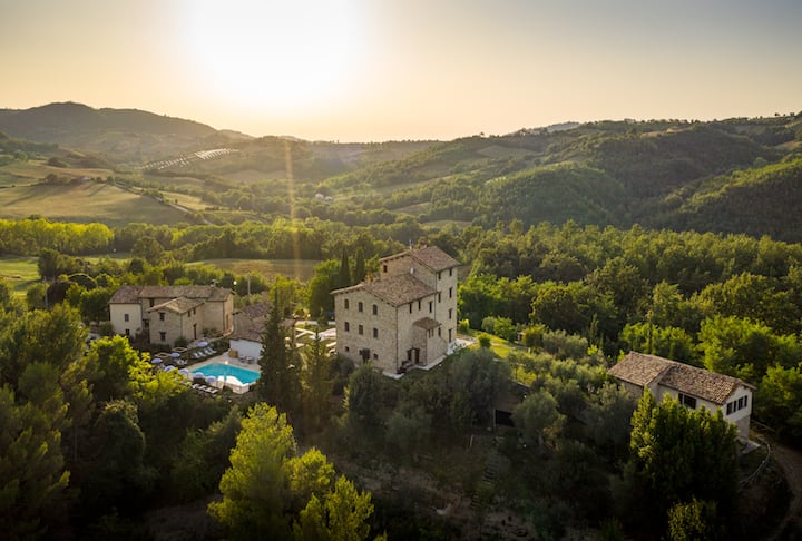 Holiday House 24 Pers @Borgo Castello Panicaglia