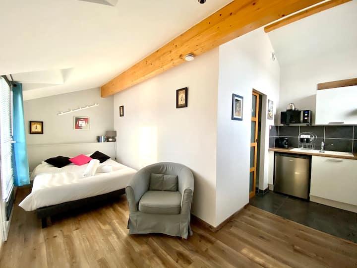 Le Rn88 - Appartement cosy proche du centre