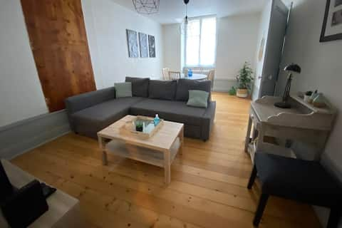«Le Grilleton» Appartement au cœur du centre-ville