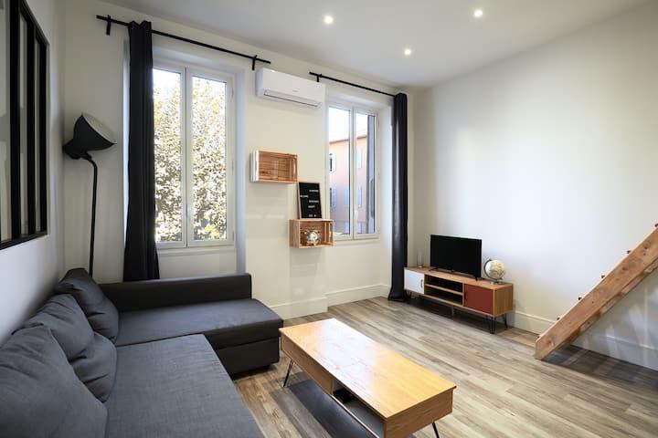 Joli appartement au coeur de Marseille