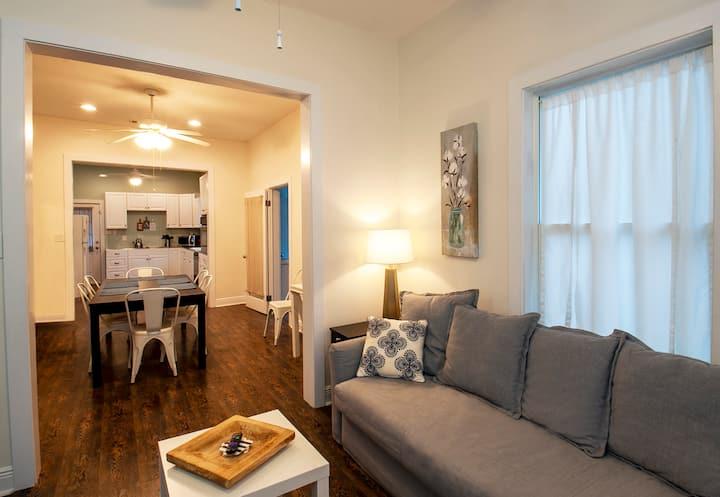 Clean, bright and spacious home near the beach!