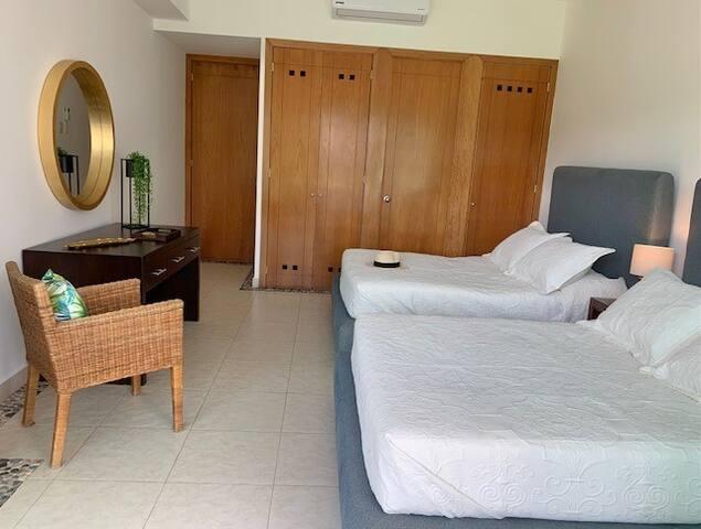 2da Recamara, con 2 camas matrimoniales
