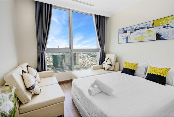 -40%off 3BR Vinhomes, Best City View, 36th Floor