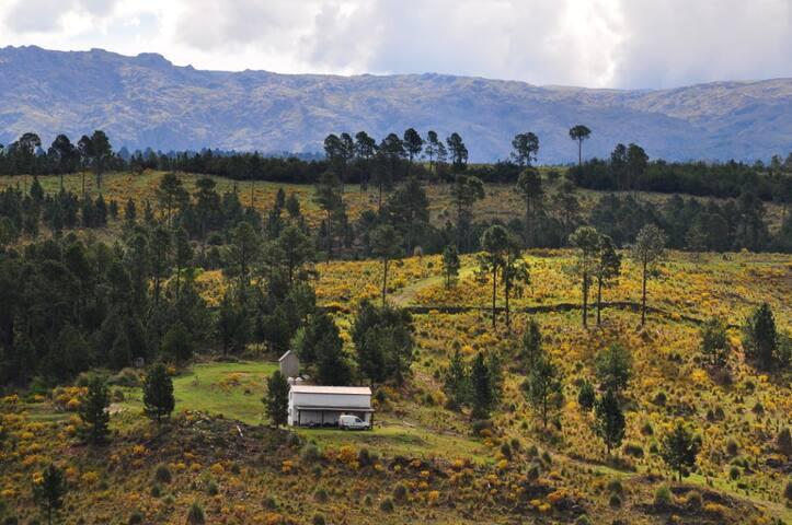 """Cabana de Montana """"El Almez"""" Villa Berna, Cordoba"""