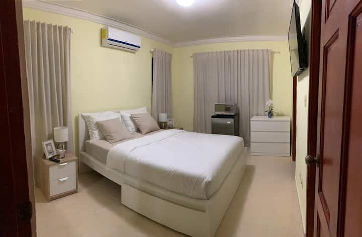 """Elegant Private Master Bedroom Suite & Bathroom"""