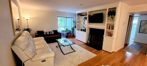 Kid & Pet Friendly 2 BR Condo - 30 Mins from DC!