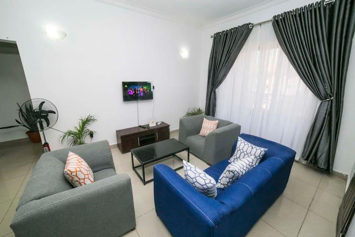 ARO|Apartments: 2BD Top Flr Flat(Karsana/Gwarinpa)