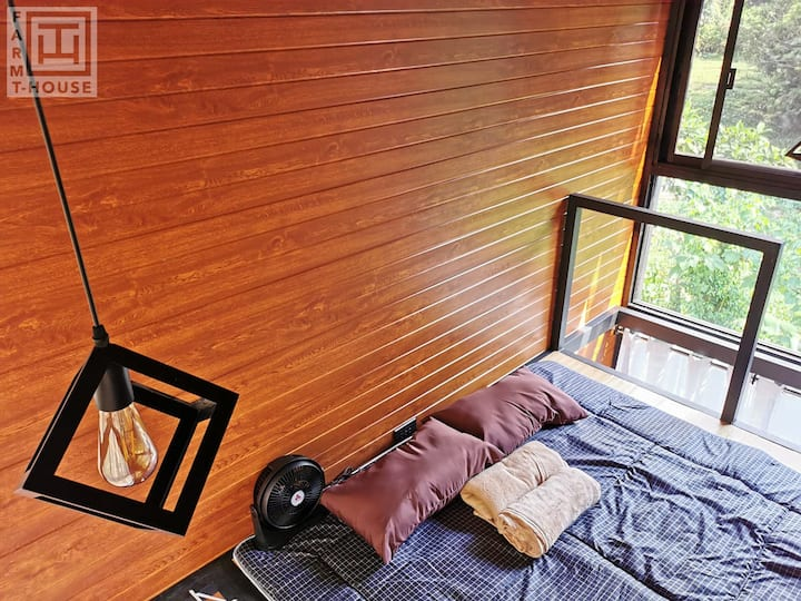 C. Explore & Enjoy T-HOUSE Glamping Farmstaycation