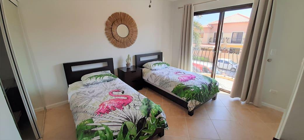 Guest Bedroom with En suite Bathroom and AC
