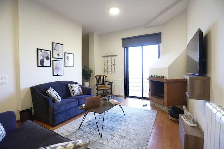 ★ 3-Bedroom Chalet @Plateau Oyoun Siman, Mzaar A1