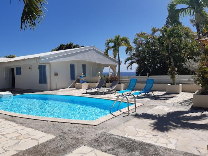 Villa Thalassa 8pers, piscine privée, plage à 2min