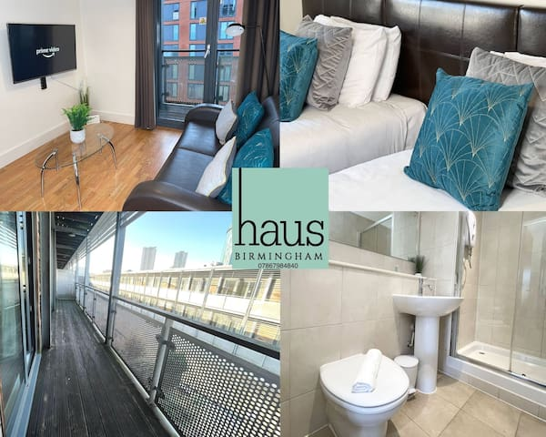 Luxury 2 Bed Arcadian Apartment Parking & Balcony