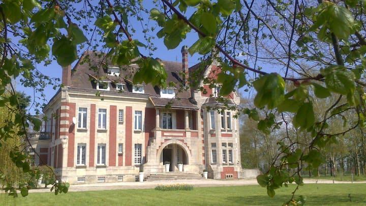 Château Billancourt, 1 h de Paris ou Lille, 2 ha