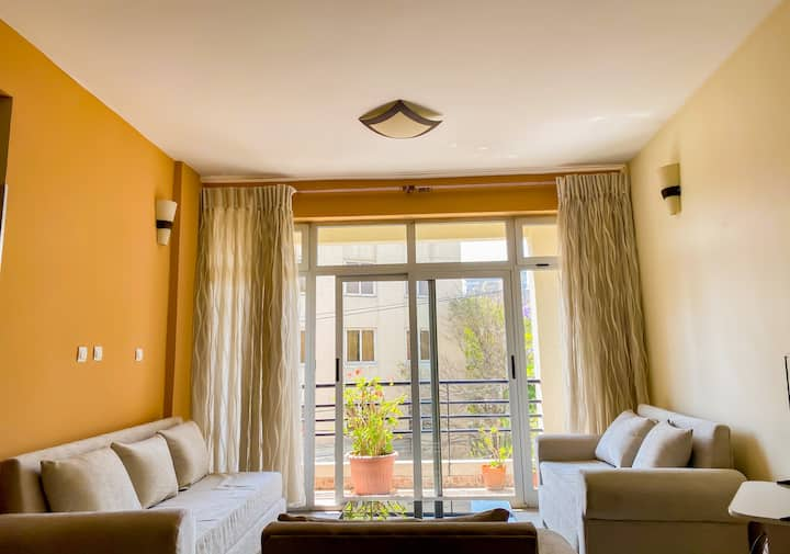 Spacious 3bed Apt in Central Addis | Near airport