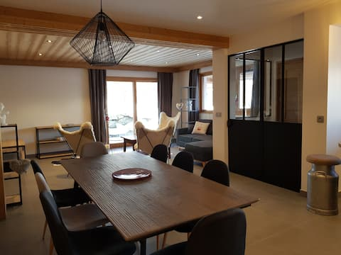 Chez tante Ephyse,- Combloux/ St Gervais/Megève