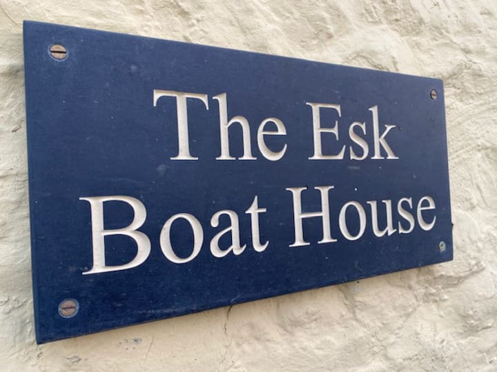 The Esk Boathouse, outdoor enthusiasts paradise