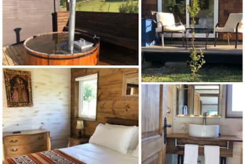 Habitación con desayuno y tinaja caliente privada