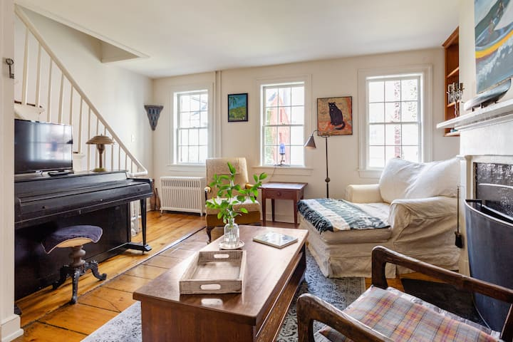 Private, whimsical  West Village