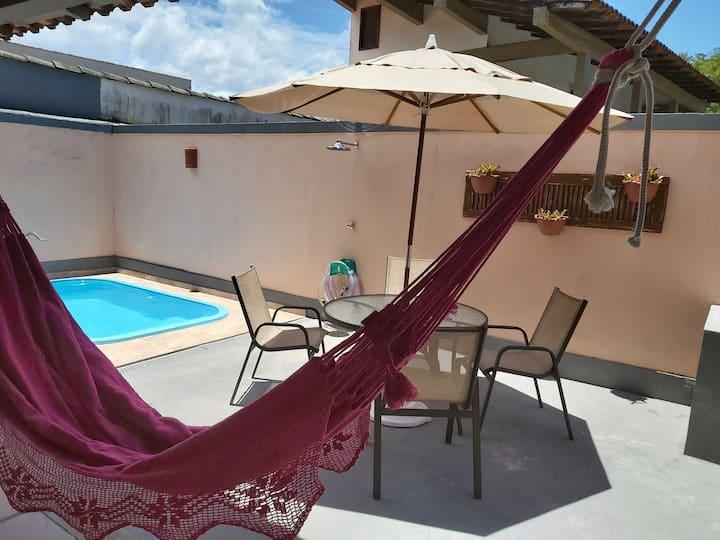 Linda casa em Ibicuí com piscina, próximo a praia