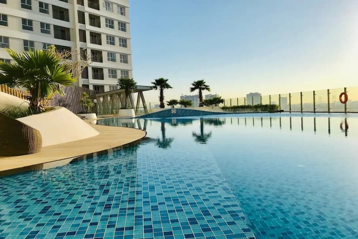 Cozy Apt Dt7| FREE GYM POOL| near Lotte Mart