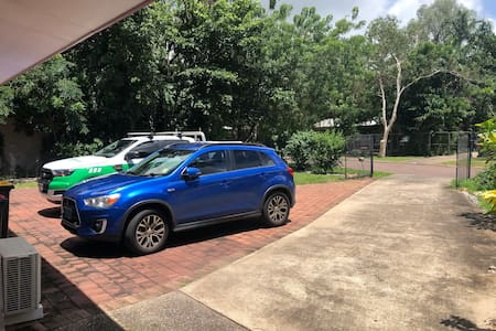 Other than the curb at the start of the driveway, there are no steps to get into the granny flat which will make it convenient for people with disabilities.