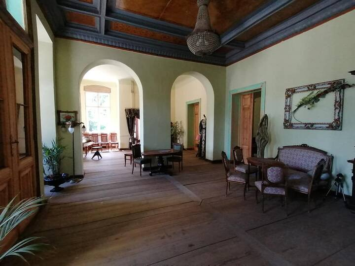 Pałac Paprotno Folwark Rycerski