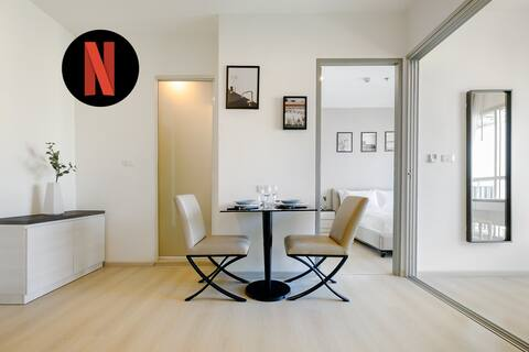High FL★Apt w/Multi-Purpose room&Sky pool-5m MRT