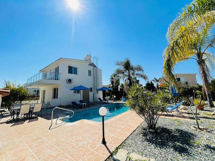 Villa Coral Marbles 1Km From Coral Bay Beach
